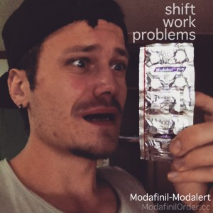 shift work problems and modafinil