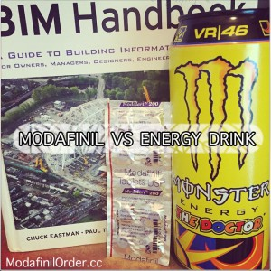 modafinil vs energy-drink